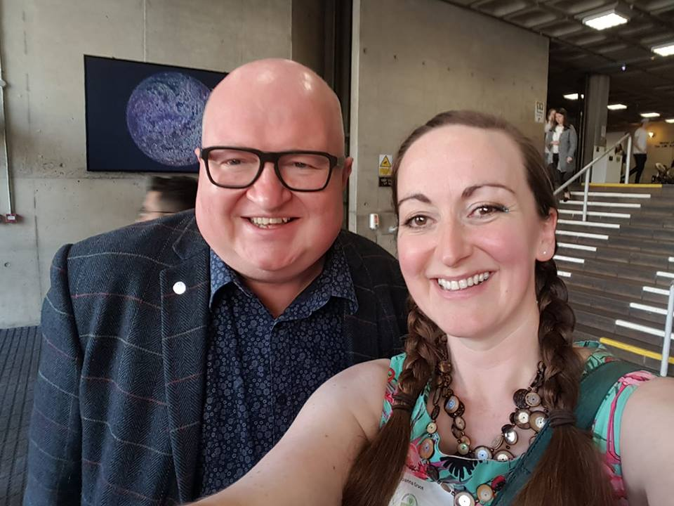 Mark Gray and Joanna Grace Dublin 2018